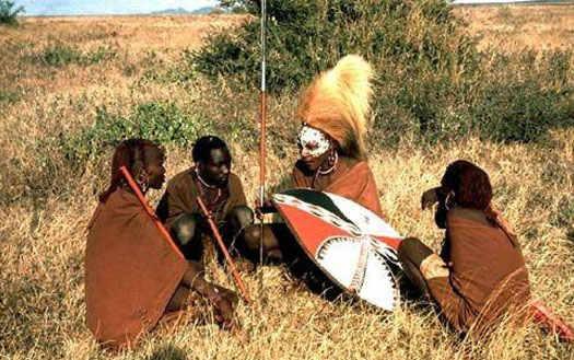 Африка - люди