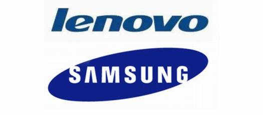 Бренды Lenovo и Samsung