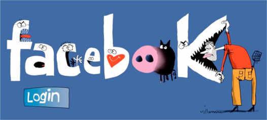 Facebook стиль