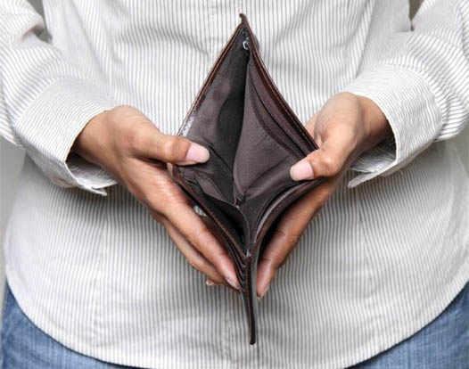 Потеря денег
