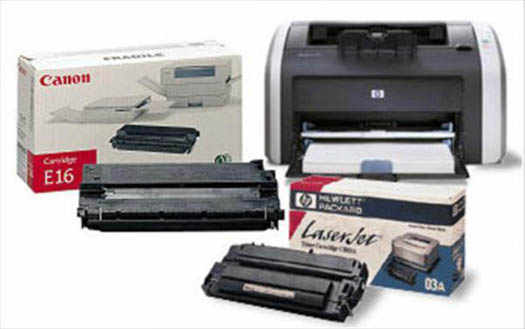 заправка тонеров в принтерах