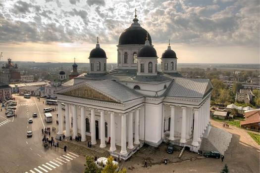 Собор в городе Арзамас