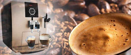 картинка кофемашины и кофейного напитка