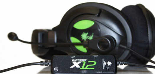гарнитура Turtle Beach EarForce X12