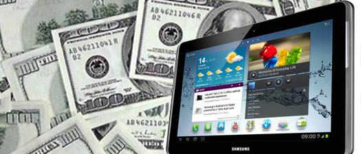 GALAXY Tab 2 10.1 и его цена в долларах