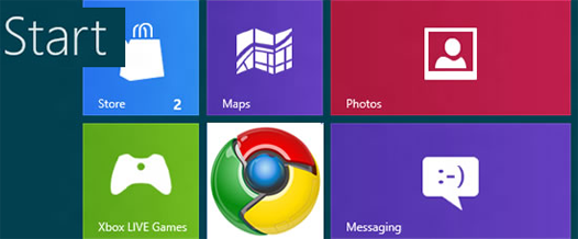 chrome на windows8