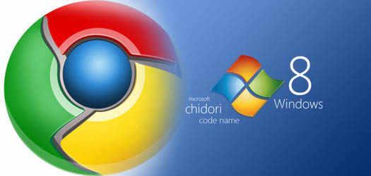 в Chrome 22 включена  поддержка  Windows 8
