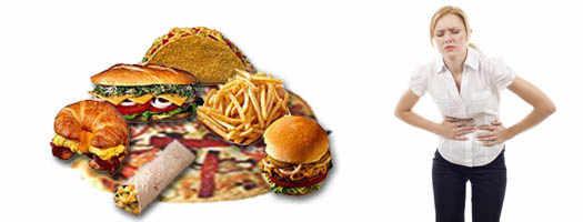 Боли в желудке от неправильного питания