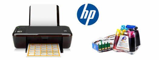 Принтер HP с СНЧП