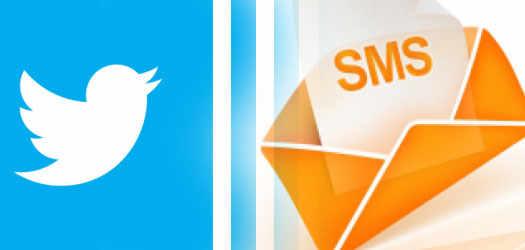 sms твиттер сервис