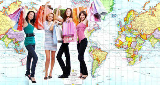 покупки путешествуя
