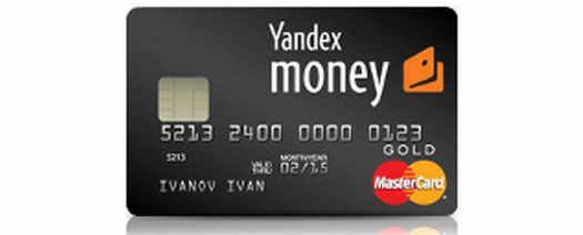 yandex money на карту